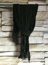 cocon.commerz PRIVATSACHEN   Crash-Schal aus Seide in schwarz