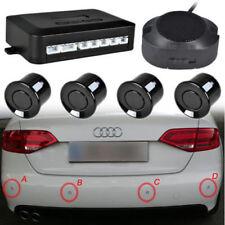 Einparkhilfe mit LED Display 4 Sensoren Schwarz Rückfahrwarner Parkhilfe PDC Set