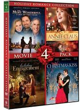 Holiday Romance Collection 4 Movie Pack Dvd Christmas Kiss Holiday Engagement