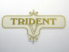 TRIDENT sidecover decal 60-3954 five speed V gold peel and stick