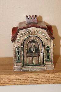 Vintage Capron Magic cast iron mechanical bank