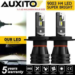 AUXITO H4 9003 HB2 LED Headlight Bulb Conversion Kit High Low Beam 6000K CANBUS