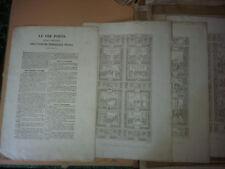 Le tre porte della facciata dell'insigne primaziale pise pisana - Rossi - 1838