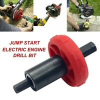 Jump Start Electric Engine Drill Bit Adapter For Troy-Bilt Plug Button Trimmer