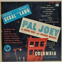 """Pal Joey"" Rodgers & Hart LP [Columbia ML 4364] Mono CBS"