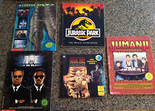Lot of 5 Children's Books: Jumanji, Godzilla, Men in Black, Jurassic Park