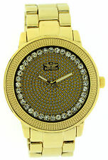 Men's Gold Plated Case Quartz (Battery) Polished Watches
