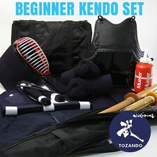 TOZANDO COMPLETE HIGH GRADE KENDO BEGINNER BOGU SET - FREE WORLDWIDE SHIPPING