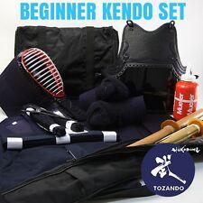 TOZANDO COMPLETE HIGH GRADE KENDO BEGINNER BOGU SET - FREE WORLDWIDE SHIPPING
