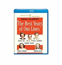 The Best Years of Our Lives Blu-ray Frederic March Myrna Loy Dana Andrews Wright