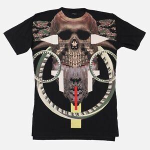Marcelo Burlon Guanajay Voodoo Print Longline T-Shirt   Size S Longline fit SS16
