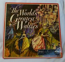 WORLD'S GREATEST WALTZES 33RPM 3 ALBUMS BOX SET RCA Cyclophonic Reader's Digest