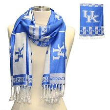 University Of KY Official Collegiate Fringed Ended Shawl