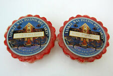 Lot 2 Yankee Candle Tarts Wax Potpourri Home for the Holidays .8 oz 8 Hours