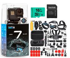 GoPro HERO 7 Black 12 MP Waterproof 4K Camera Camcorder + Ultimate Action Bundle