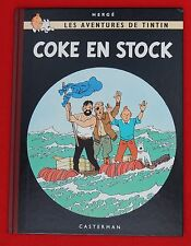 Hergé. TINTIN. Coke en Stock. Fac similé EO de 1958 - Tirage février 2003
