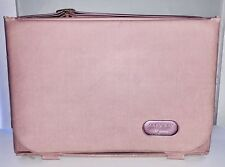Vintage Pink Vinyl Mary Kay Cosmetics Consultant Carrying Case Bag Makeup Artist