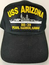 USS ARIZONA BB-39 Pearl Harbor,Hawaii Hat