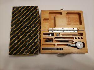 Brown & Sharpe BesTest Dial Test Indicator 599-7032-3 in Wooden Box. original