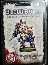 Blood Bowl Morg'n'Torg Star Player Forge World Sealed New