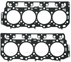 GMC Chevy Duramax 6.6L Cylinder Head Gasket Pair 2 1.05MM Thick 106mm LLY LML