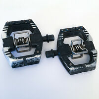 Crank Brothers Mallet E MTB Pedals-Trail-XC Mountain Bike Pedals-Black