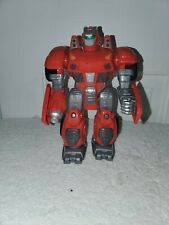 """HAP-P-KID TOY - Battery Operated Toy Robot 7"""" - *Walks Moves Arms Lights Up"""