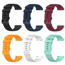 Silicone Watch Band Strap for GARMIN VIVOACTIVE 3  / MUSIC (Quick Release 20mm)