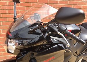 HONDA CBR125R 2011-2019 PAIR OF MIRRORS GOOD QUALITY AFTERMARKET LEFT & RIGHT