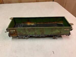 Lionel Standard Gauge - 512 Green Gondola Issues