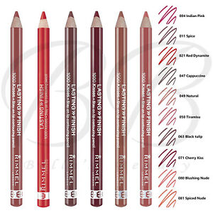 RIMMEL London Lasting Finish 1000 Kisses Lip Liner Pencil Contour *ALL SHADES*