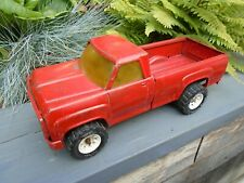 Tonka toy pick up truck tailgate folds down good tyres displays well