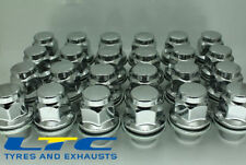 set of  24* 12x 1.25 12x1.25mm 21mm Flat Seated Hex Alloy Wheel Nuts