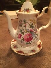 Royal Albert Chatelaine Tall Tea Pot,No Chips/Cracks Gently Used