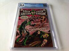 GREEN LANTERN 77 CGC 8.0 WHITE PAGES NEAL ADAMS GREEN ARROW DC COMICS