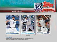 2019 Topps Series 1 Baseball Base Set (350 Cards)