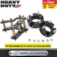 """Fit Ford Ranger PX & BT50 Lift Kit 2.5"""" Front Spacer & 2"""" Rear Shackles 2011-ON"""