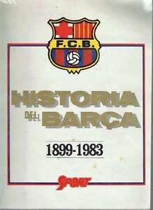 Historia del Barça. 1899-1983