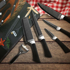 Kcasa 6pcs |Kitchen Knife Set| Stainless Steel Chef Carving Cleaver #3Cr13I