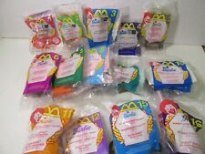 McDonald's Set Of 14 Barbie Doll Figures Happy Meal Toy 2000 t5643