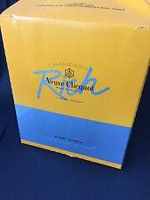 6x Veuve Clicquot 'Rich' Champagner Flasche 0,75l 12% Vol Kiste Champagne
