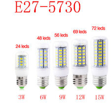 E27 E14 G9 B22 5730 LED Birne Glühbirne Mais Licht Leuchtmittel Lampe 220V 9-15W