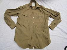 Shirt Womans Khaki,Long Sleeve, Frauen Hemd zur No. 2 Dress Uniform,Gr. 35/96,#3