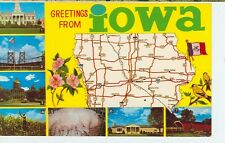 Greetings From Iowa Multi View/ Map (Jl3-569)