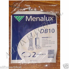 Hoover TurboLark, TurboPower Agitator Belts (Pkt 2) - Menalux Part # DB10