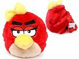 ANGRY BIRDS RED BIRD GIRL PLUSH DOLLS BACKPACK FITS KIDS TO ADULTS 100% ORIGINAL