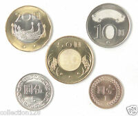 ec8 South Osetia Set 8 coins 2013 UNC