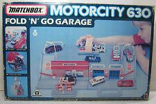 VTG 1990 MATCHBOX MOTORCITY 630 FOLD & GO GARAGE MIB MISB BRAND NEW HUGE & RARE!