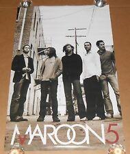 Maroon 5 Poster #9103 Funky 2004 Original 34x22 Rare