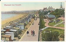 Postcard - Weymouth from Greenhill Dorset
